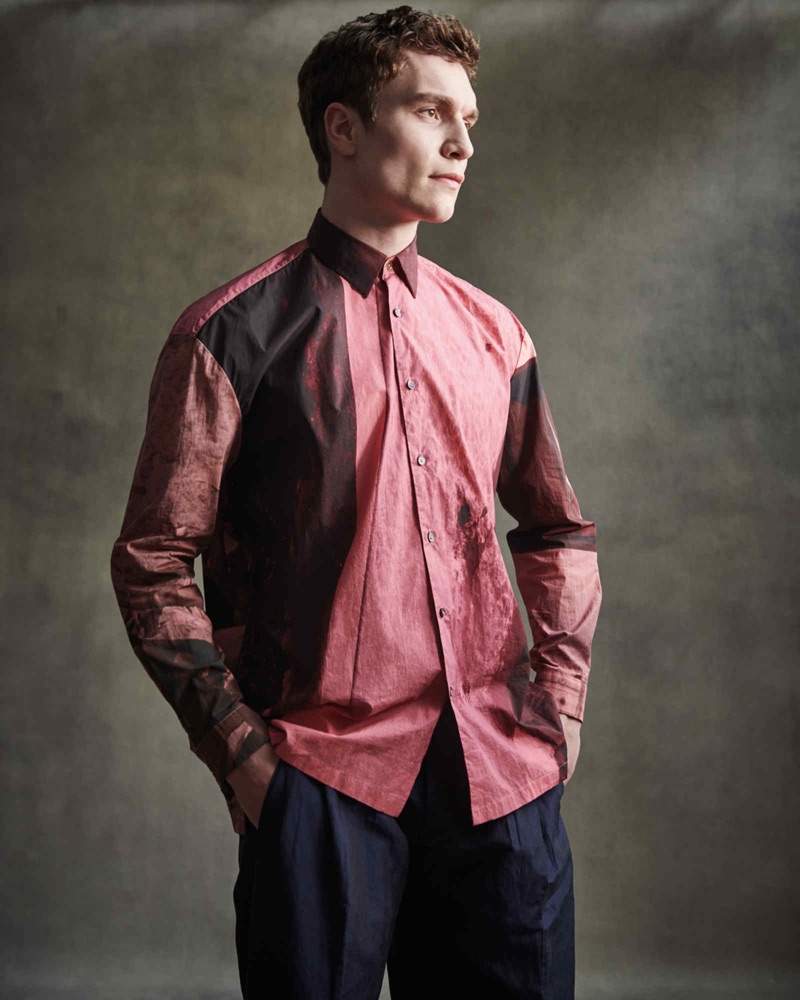 George Admiraal Models Statement Shirts for How to Spend It