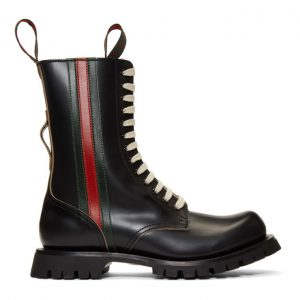 Gucci Black Arley Boots