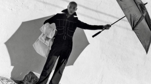 Pop Time: Jean Chang Ventures Outdoors with GQ France