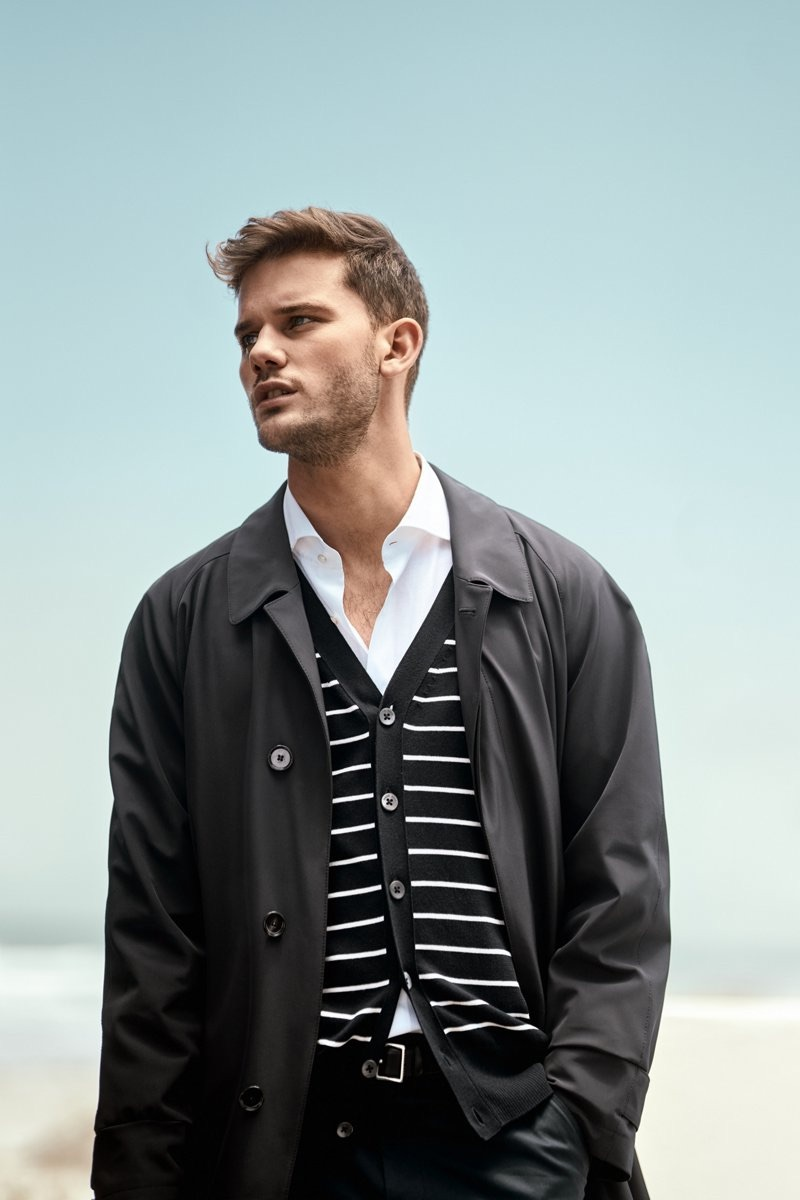 BOSS enlists Jeremy Irvine to showcase its versatile styles for the traveler of leisure.