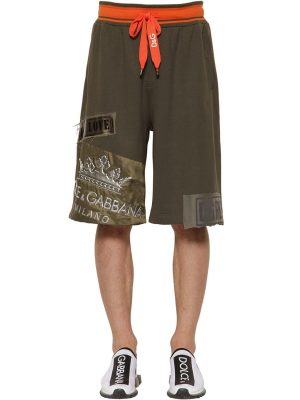 Jersey Shorts W/ Logo Crown Patch