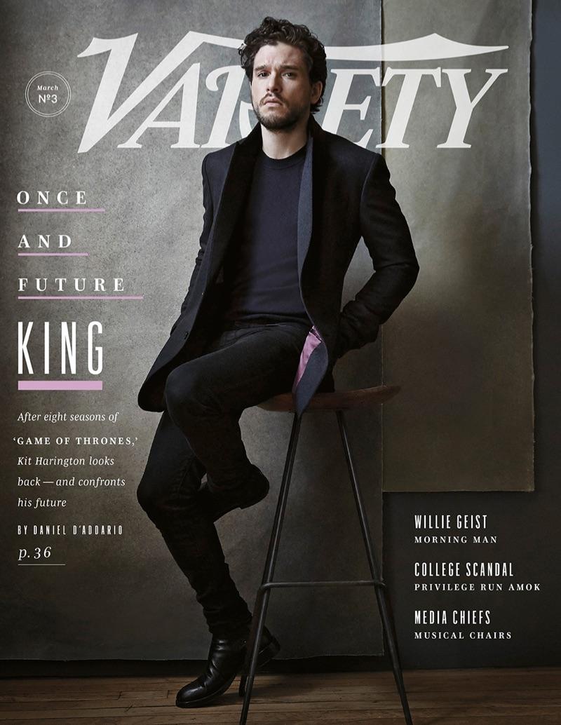 Kit Harington covers Variety magazine.
