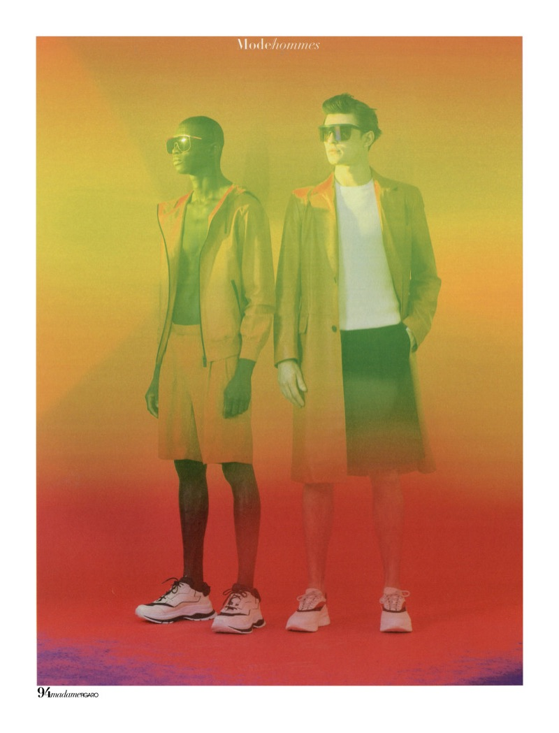 Fernando Cabral & Guerrino Santulliana Don Colorful Tailoring for Madame Figaro Hommes