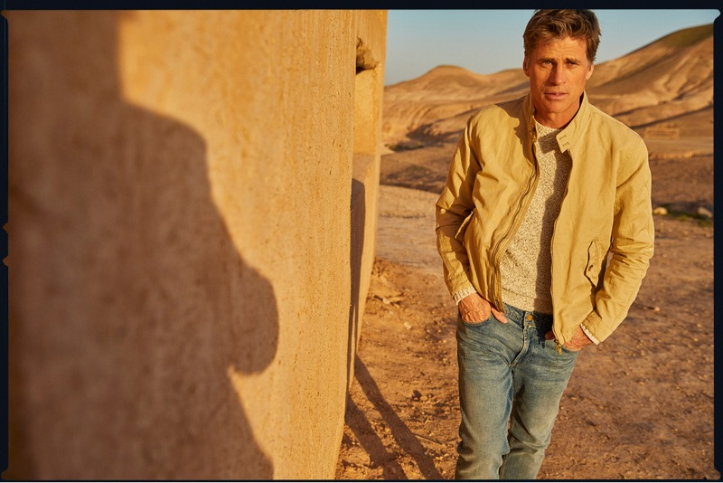 Hunter & Gatti photographs Mark Vanderloo for Massimo Dutti.