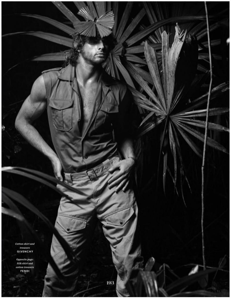 Marlon Teixeira Takes to Nature for Vogue Hommes Paris