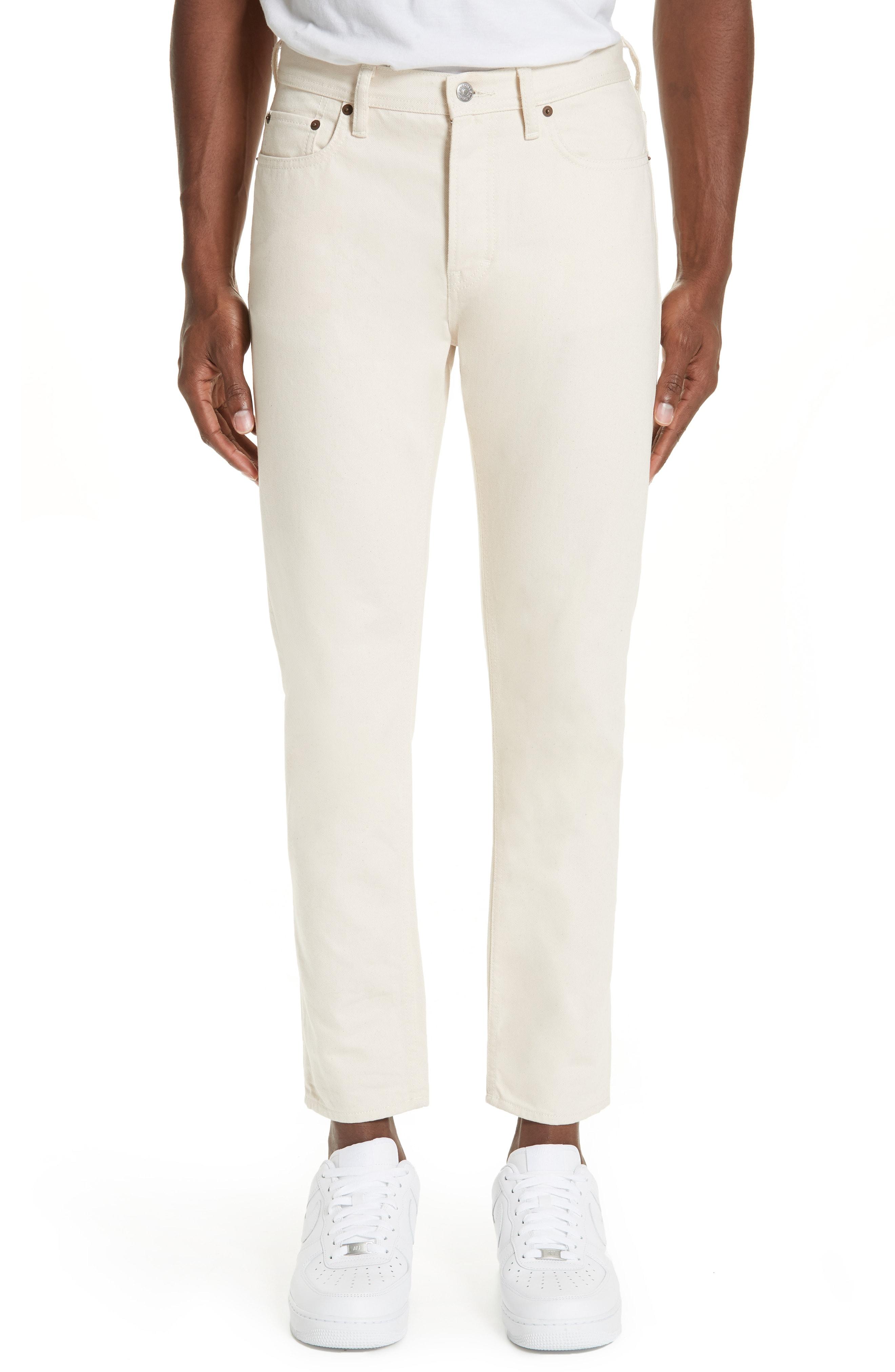 ae2772ea Men's Acne Studios North Skinny Fit Jeans, Size 29 x 34 – White | The  Fashionisto