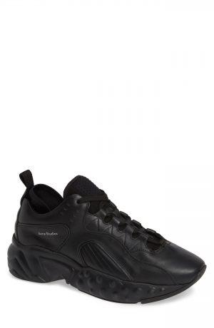 Men's Acne Studios Rockaway Built-Up Sneaker, Size 7US / 40EU - Black