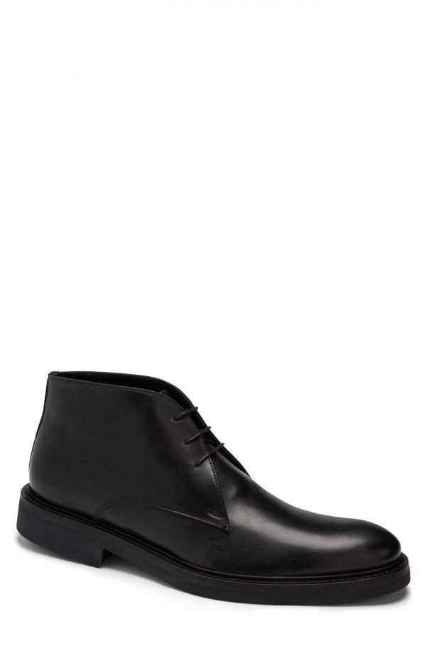 Men's Bugatchi Milano Chukka Boot, Size 9.5 M - Black