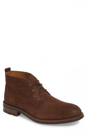 Men's J & m 1850 Fullerton Chukka Boot, Size 8.5 M - Brown