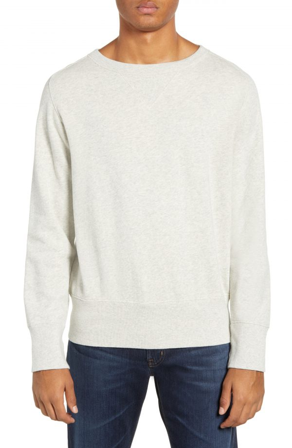 Men's Levi's Vintage Clothing 1930S Bay Meadows Sweatshirt, Size Small - Ivory