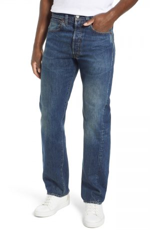 Men's Levi's Vintage Clothing 1947 501 Straight Leg Jeans, Size 30 x 32 - Blue