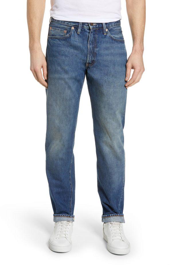 Men's Levi's Vintage Clothing 1954 501 Straight Leg Jeans, Size 30 x 32 - Blue
