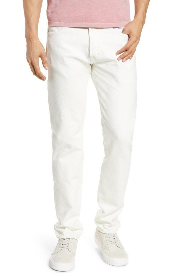 Men's Levi's X Justin Timberlake 501 Slim Taper Jeans, Size 29 x 32 - White