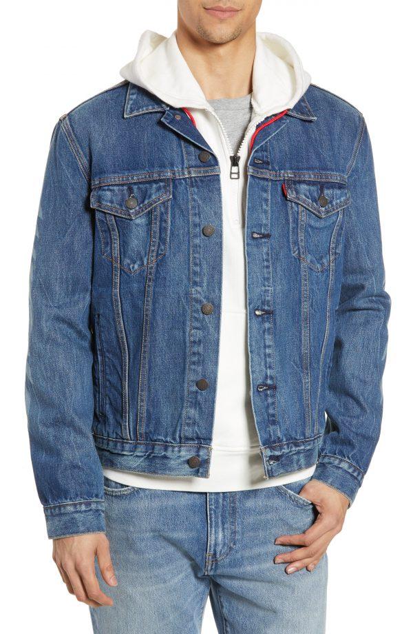 Men's Levi's X Justin Timberlake Denim Trucker Jacket, Size Small - Blue
