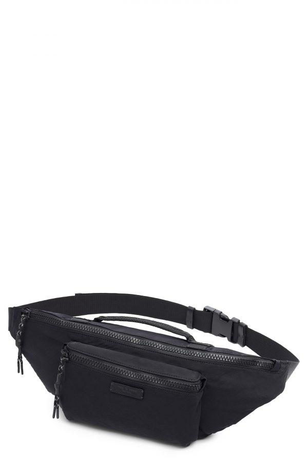 Men's Rag + Bone Fleet Belt Bag - Black