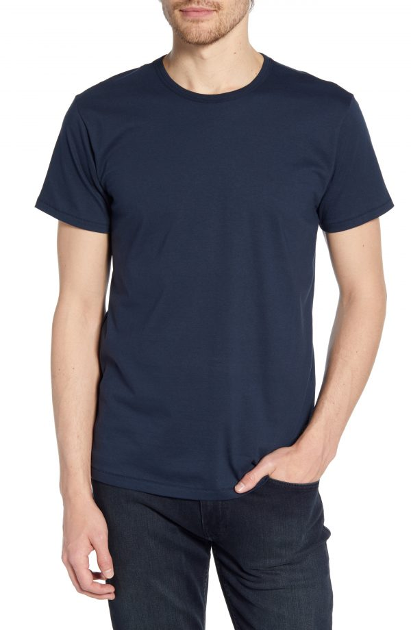Men's Rag & Bone Classic Base T-Shirt, Size Small - Blue