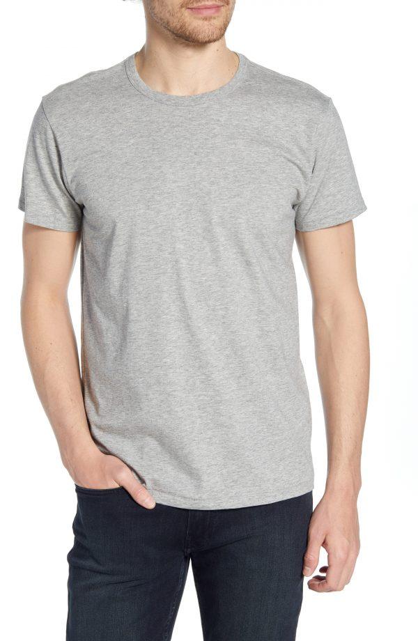 Men's Rag & Bone Classic Base T-Shirt, Size Small - Grey