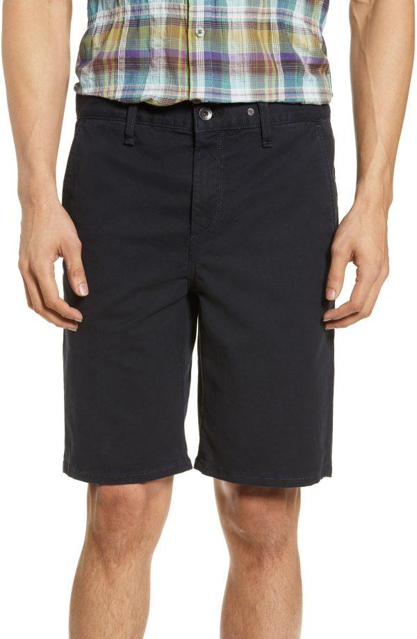 Men's Rag & Bone Classic Chino Shorts, Size 30 - Blue