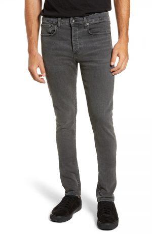 Men's Rag & Bone Fit 1 Skinny Fit Jeans, Size 34 - Black