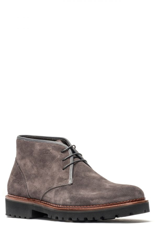 Men's Rodd & Gunn Lake Gunn Water Repellent Chukka Boot, Size 42 EU - Grey