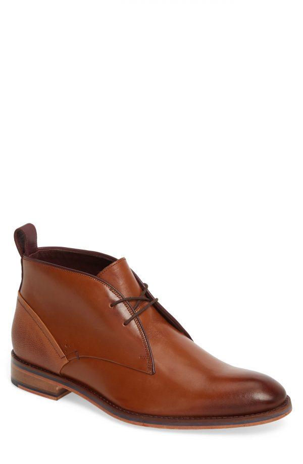 Men's Ted Baker London Deksta Chukka Boot, Size 10.5 M - Brown