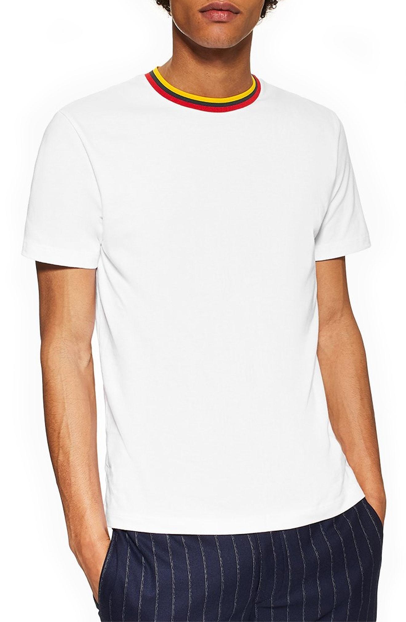 17acaf0d Topman Slim Fit White Shirt - DREAMWORKS