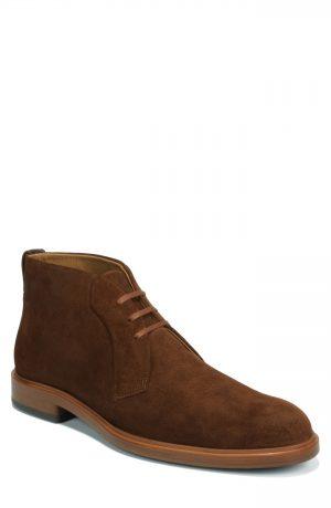Men's Vince Brunswick Chukka Boot, Size 13 M - Brown