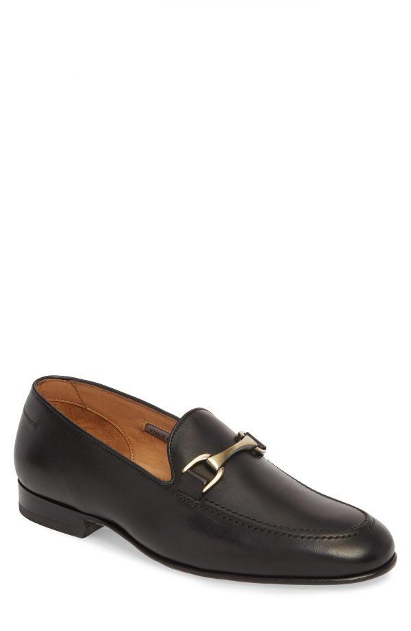 Men's Vince Camuto 'Borcelo' Bit Loafer, Size 8 M - Black