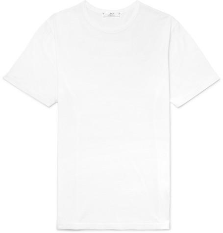 Mr P. - Cotton-Jersey T-Shirt - Men - White