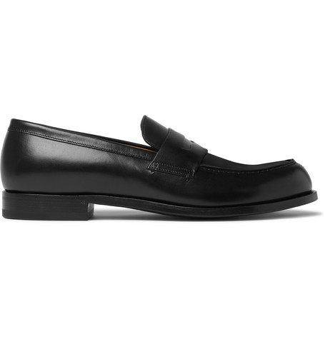 Mr P. - Dennis Leather Loafers - Men - Black