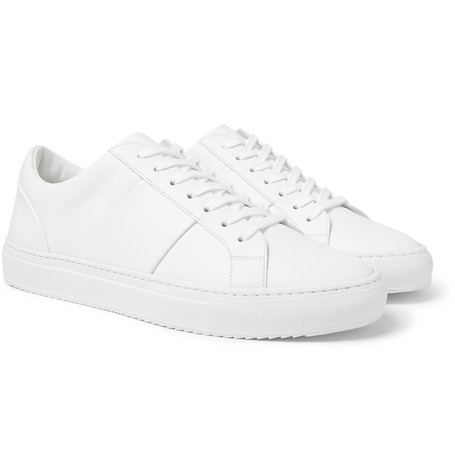 Mr P. - Larry Leather Sneakers - Men - White
