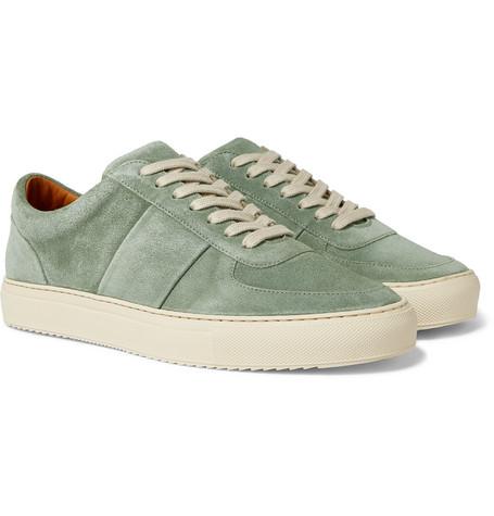 Mr P. - Larry Suede Sneakers - Men - Mint