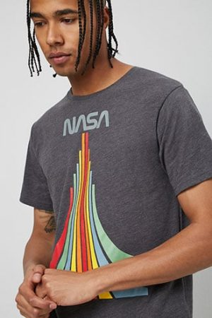 NASA Graphic Tee at Forever 21 Grey/multi