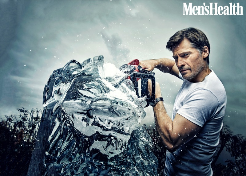 Actor Nikolaj Coster-Waldau graces the pages of Men's Health with a new photo shoot.