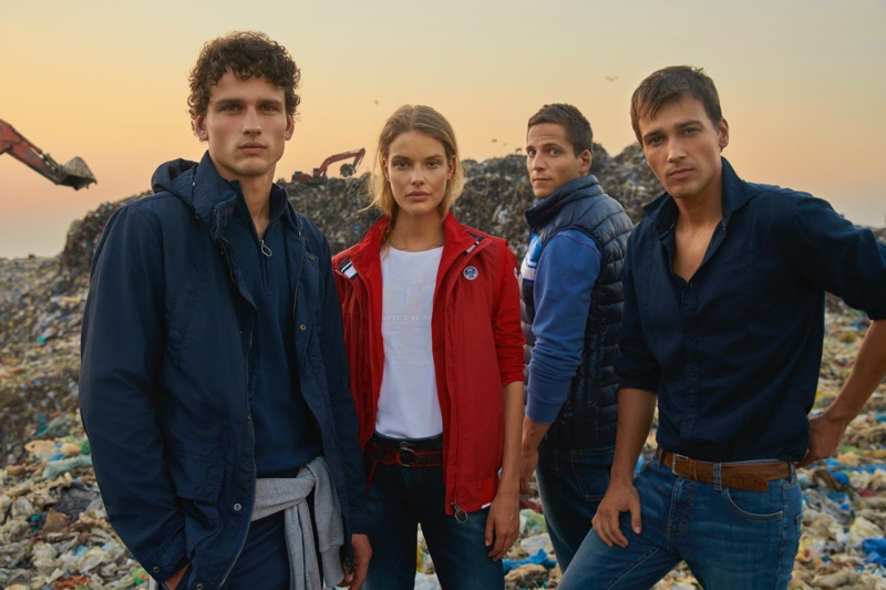 North Sails enlists Simon Nessman, Alena Blohm, Gotzon Mantuliz, and Michel Biel to front its spring-summer 2019 campaign.