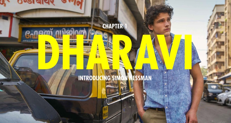 Traveling to Dharavi, Simon Nessman reunites with North Sails for spring-summer 2019.
