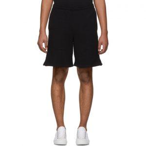Off-White SSENSE Exclusive Black 3D Diag Shorts