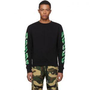 Off-White SSENSE Exclusive Black 3D Diag Sweatshirt