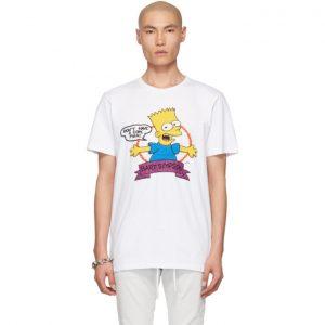 Off-White White Bart Slim T-Shirt