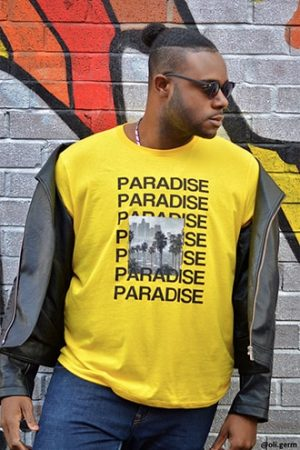 Paradise Graphic Tee at Forever 21 Yellow/black