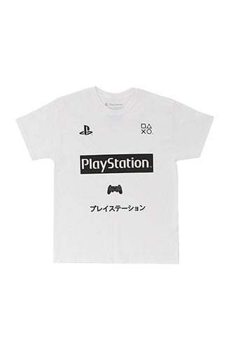 PlayStation Graphic Tee at Forever 21 White/black