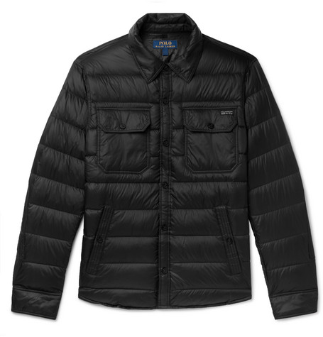 11842798f Polo Ralph Lauren – Cire Quilted Shell Down Jacket – Men – Black | The  Fashionisto