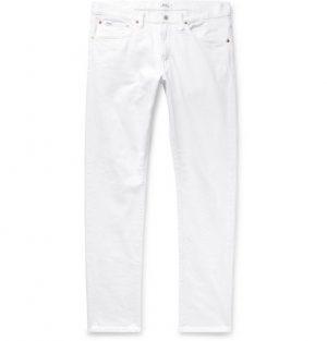 Polo Ralph Lauren - Slim-Fit Denim Jeans - Men - White
