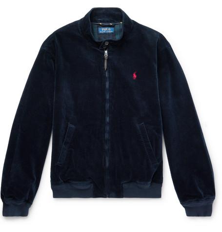 43a0b2369eb5dd Polo Ralph Lauren – Stretch Cotton-Corduroy Jacket – Men – Navy ...
