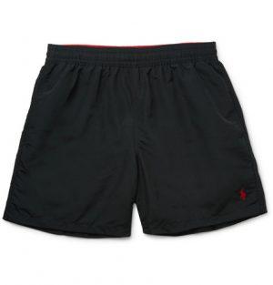Polo Ralph Lauren - Traveler Mid-Length Swim Shorts - Men - Black