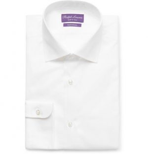 Ralph Lauren Purple Label - White Aston Cotton-Poplin Shirt - Men - White