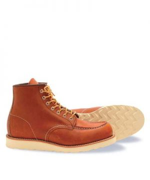 Red Wing Heritage Moc Toe Boot in Brown