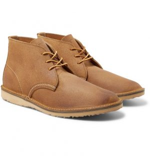 Red Wing Shoes - Weekender Rough-Out Leather Chukka Boots - Men - Beige