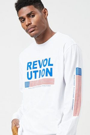 Revolutionist Graphic Tee at Forever 21 White/multi