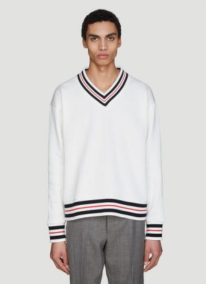 Ribbed Knit Cricket Sweater